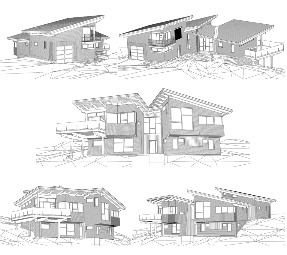 Kaslo Bay Ridge - line renderings