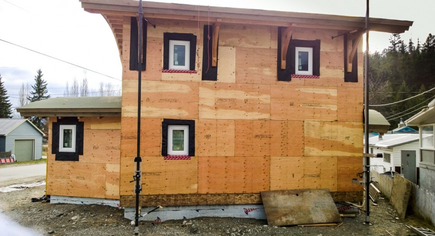 Kaslo Passive House north